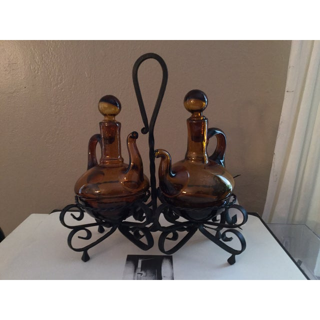 Italian Oil and Vinegar Set - Image 2 of 5
