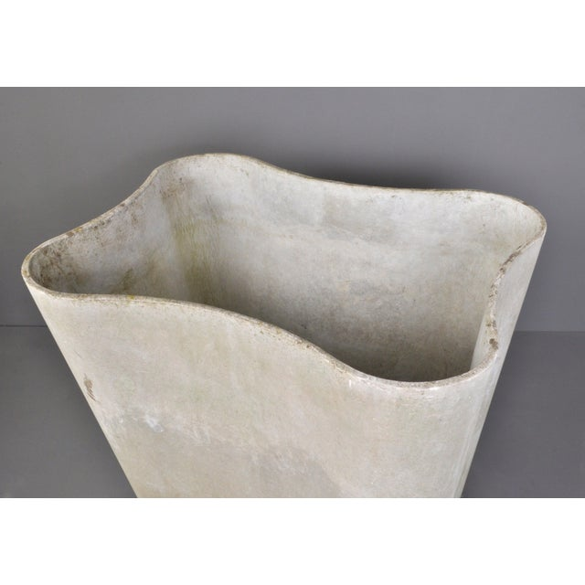 Priced per item. Organic form planter designed by Christophe Marchand and Alfredo Haberli and manufacture by Eternit AG,...