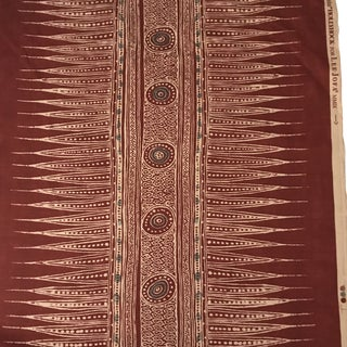 Indian Lee Jofa Zag Paprika Multipurpose Fabric - 5 Yards For Sale