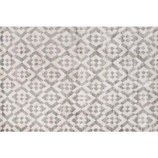 Stark Studio Rugs Contemporary New Oriental Tibetan Silk Rug - 8′ × 10′ For Sale