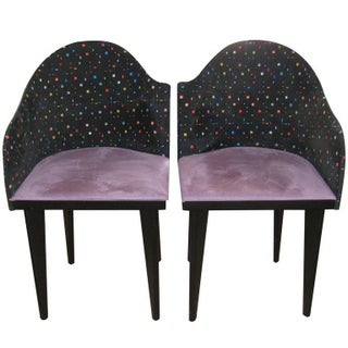 Saporiti Mid-Century Modern Chairs - A Pair For Sale