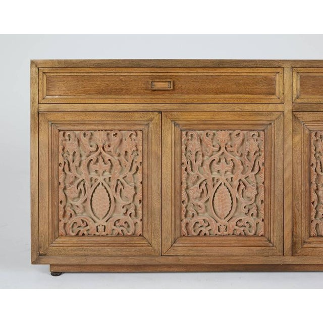 Maurice Bailey for Monteverdi-Young Carved Credenza - Image 4 of 5