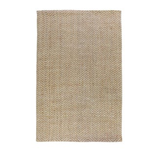 Zig Zag Natural & Bleached Rug - 5' X 8' For Sale