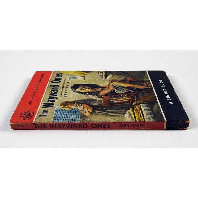 """The Wayward Ones"" Sara Harris Girl's Reformatory 1954 Pulp Paperback Book - Image 4 of 4"