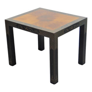 Drexel Et Cetera Chinoiserie Side Table For Sale