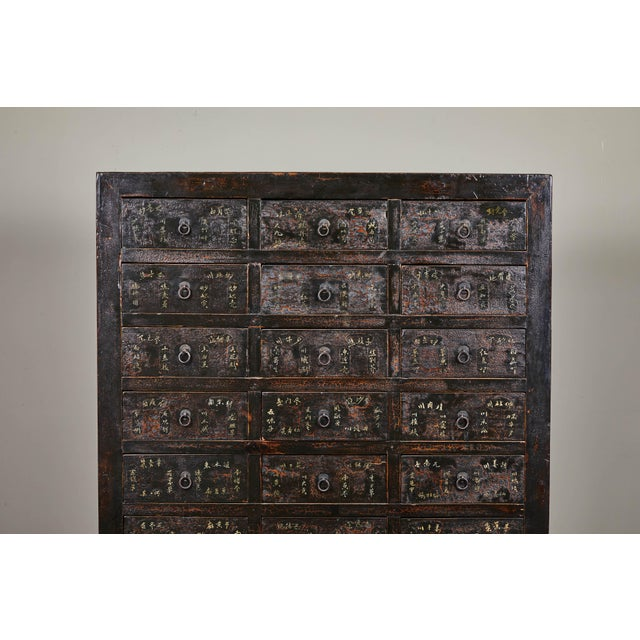 Mid 19th Century 19th Century Chinese Apothecary Cabinet With Drawers For Sale - Image 5 of 9