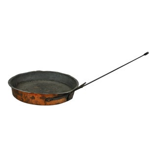 Antique Copper French Cooking Sauce Pan