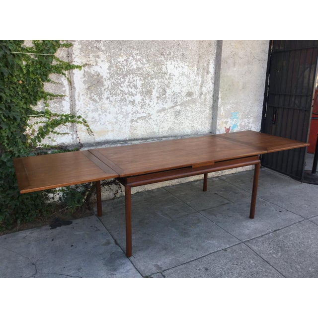 Vintage Mid-Century Modern Dining Table - Image 6 of 6