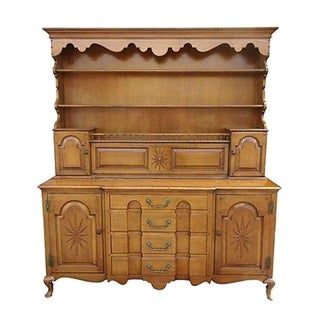 Pennsylvania Dutch Breakfront Cabinet For Sale