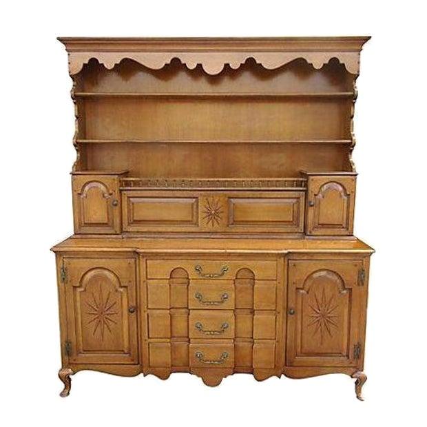 Pennsylvania Dutch Breakfront Cabinet - Image 1 of 7