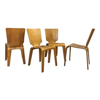 Thaden-Jordan Birch Bentwood Chairs - Set of 4