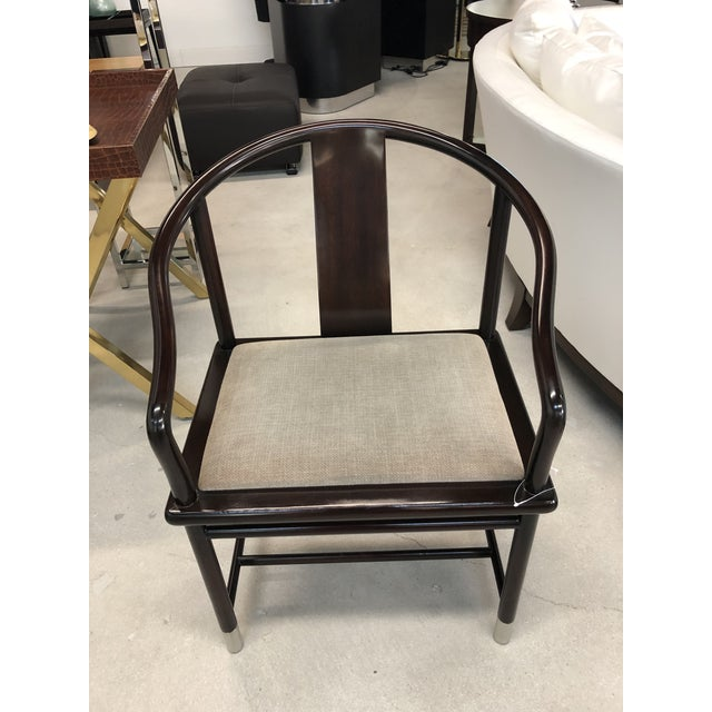 Asian 1990s Brueton Ming Inspired Chairs - Set of 4 For Sale - Image 3 of 13