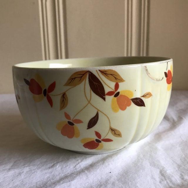 Ceramic Vintage Hall Pottery Ceramic Bowl For Sale - Image 7 of 7