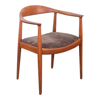 Hans J. Wegner Round Chair For Sale