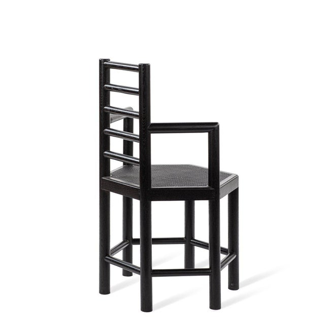 Tamarisk Chair in Black For Sale - Image 4 of 6