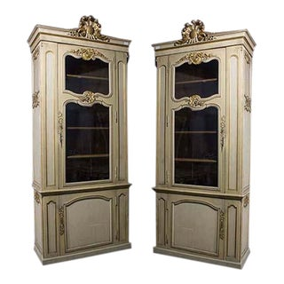 19th Century French Vitrines-A Pair For Sale