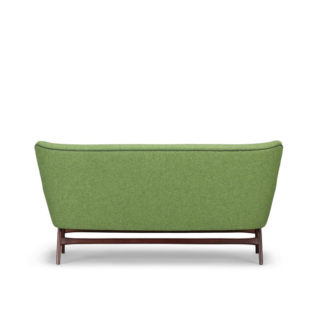 Edgy Danish Reupholstered Green Sofa from CFC Silkeborg, 1960s For Sale - Image 9 of 13