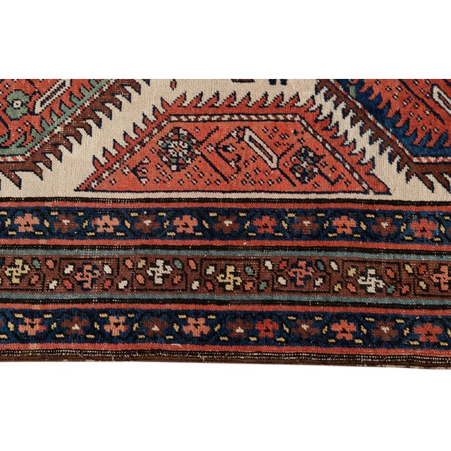 Mid 20th Century Vintage Runner Rug For Sale In New York - Image 6 of 9