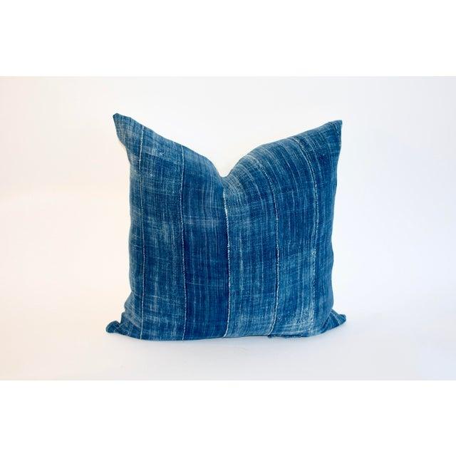 Vintage African Indigo Textile Pillow - Image 6 of 6