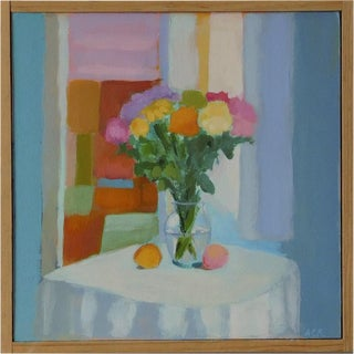 Bouquet with Lemon & Peach by Anne Carrozza Remick