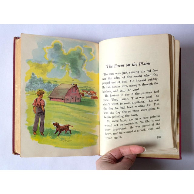 """All Around America"" Vintage Children's Book For Sale - Image 9 of 10"