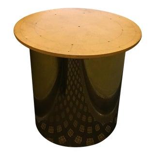 Custom Stainless Steel Drum Table Base