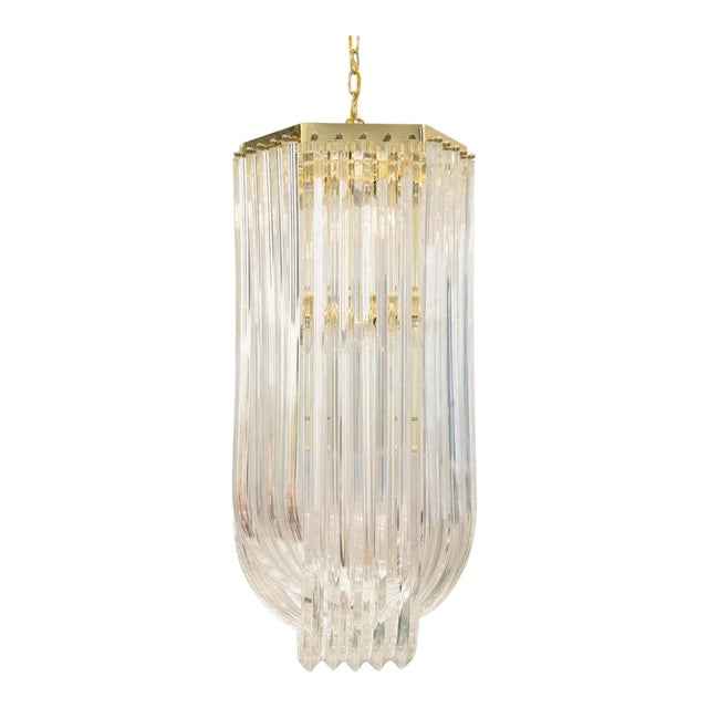 more photos 7ce65 b3a7c Lucite Ribbon Chandelier
