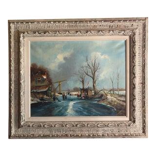 Impressionist Painting by Dutch Artist Christian Baron (Harrij Van Dongen) For Sale
