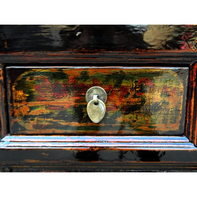 1910s Asian Antique Green Qinghai Sideboard For Sale In Boston - Image 6 of 13