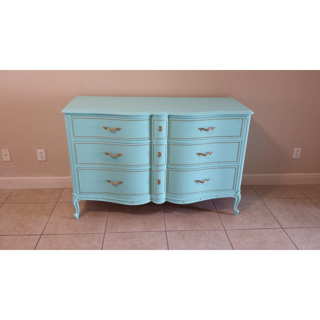 Drexel Drexel Touraine French Provincial 6-Drawer Dresser For Sale - Image 4 of 9