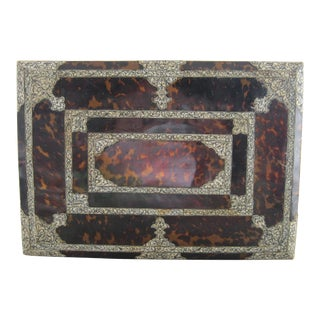 18th Century Anglo Indian or Indo Portuguese Table Box For Sale