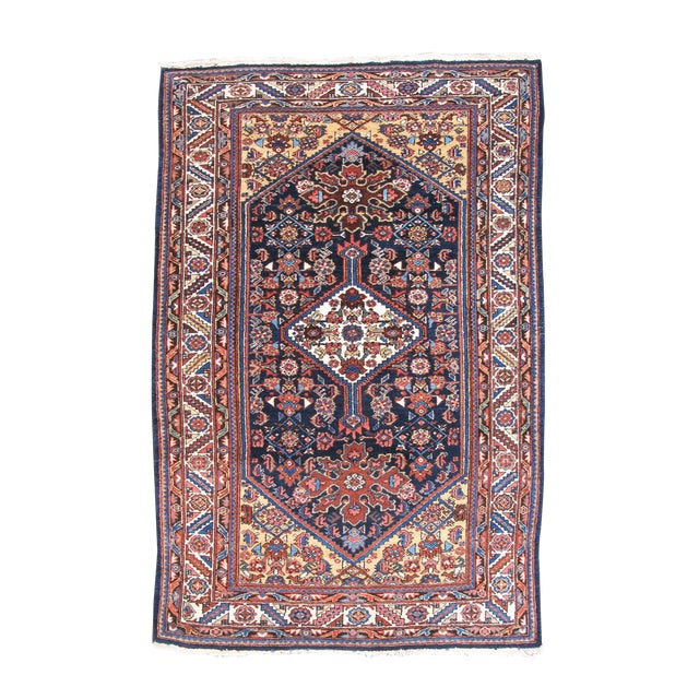 Hamadan Rug from Western Persia For Sale