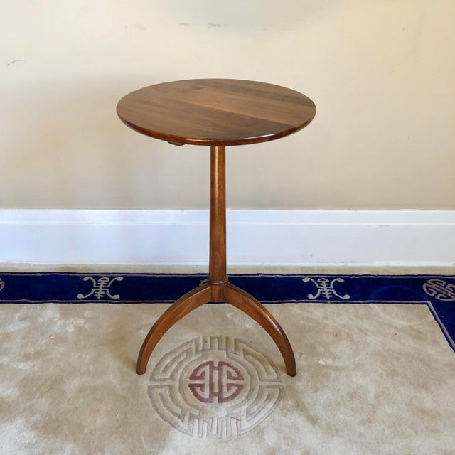 Wood Pennsylvania House Shaker Style Candle Stand Side Table For Sale - Image 7 of 7