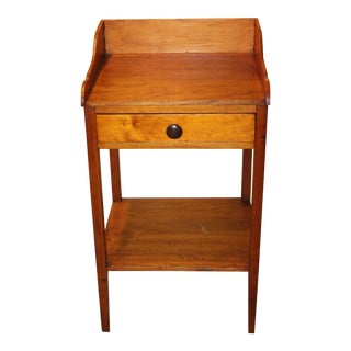 19th Century Country Pine Washstand For Sale