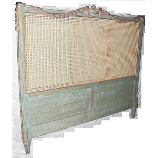 19th Century French Caned Queen Headboard Preview