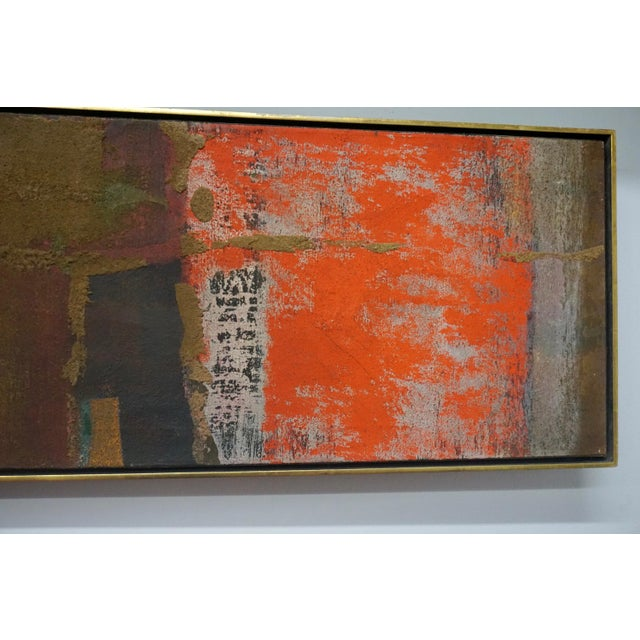 Abstract Abstract Painting by Gyorgy Kepes For Sale - Image 3 of 9