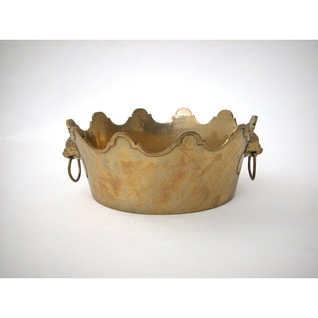 Brass Lion Bowl - Image 8 of 9