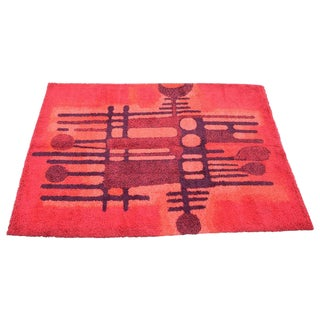 Large Bright Colorful Rug by Ege Rya For Sale