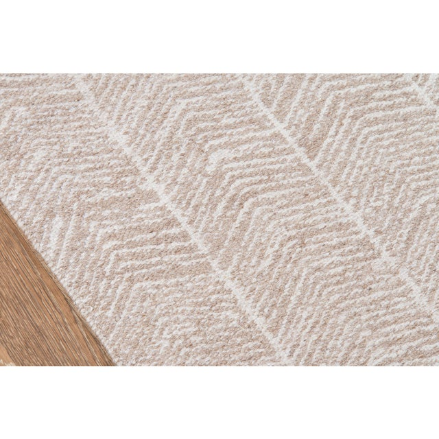 "Contemporary Erin Gates by Momeni Easton Congress Brown Indoor/Outdoor Hand Woven Area Rug - 3'6"" X 5'6"" For Sale - Image 3 of 8"