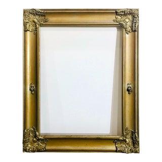 Antique Ornate Gold Frame For Sale