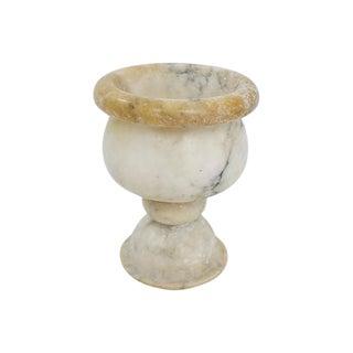 Alabaster Pedestal Bowl For Sale