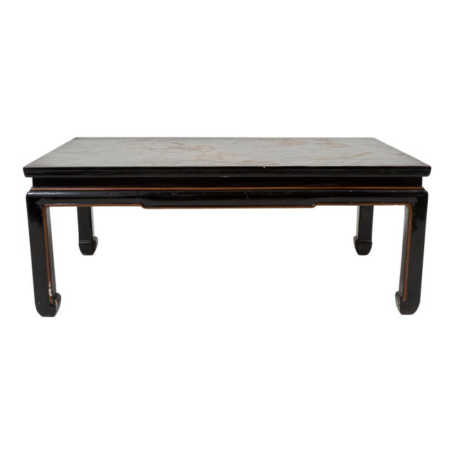 Early 20th Century Chinese Lacquer Coffee Table For Sale