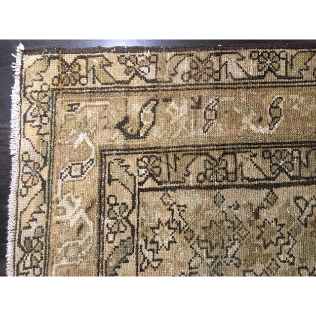 Antique Persian Malayer Runner Rug - 6′7″ × 9′10″ - Image 8 of 9