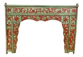 Image of Carved Wood Headboards