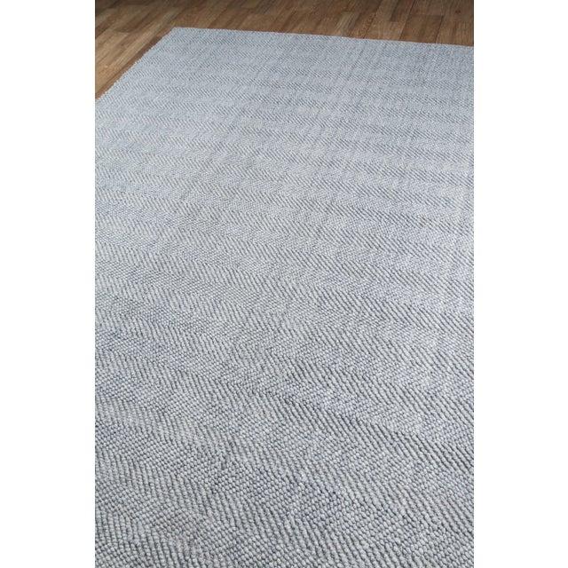Erin Gates by Momeni Ledgebrook Washington Grey Hand Woven Area Rug - 5′ × 8′ - Image 2 of 8