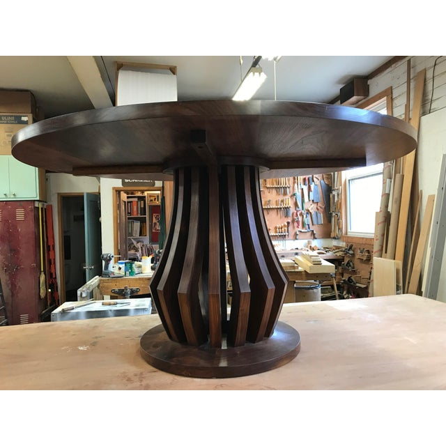 American Black Walnut Center Table For Sale - Image 4 of 6