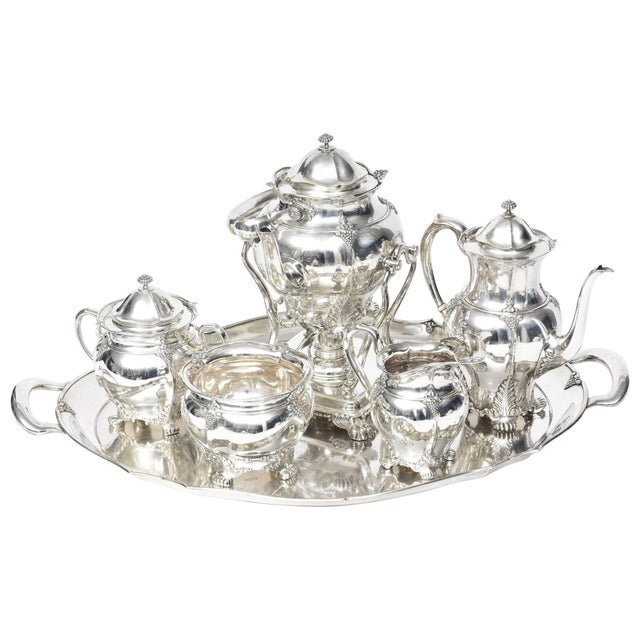 1899 Antique Victorian Tiffany & Co Sterling Tea Coffee Set - 7 Pieces For Sale - Image 10 of 10