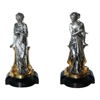 Important Pair of Tiffany and Co. Figures by Peiffer