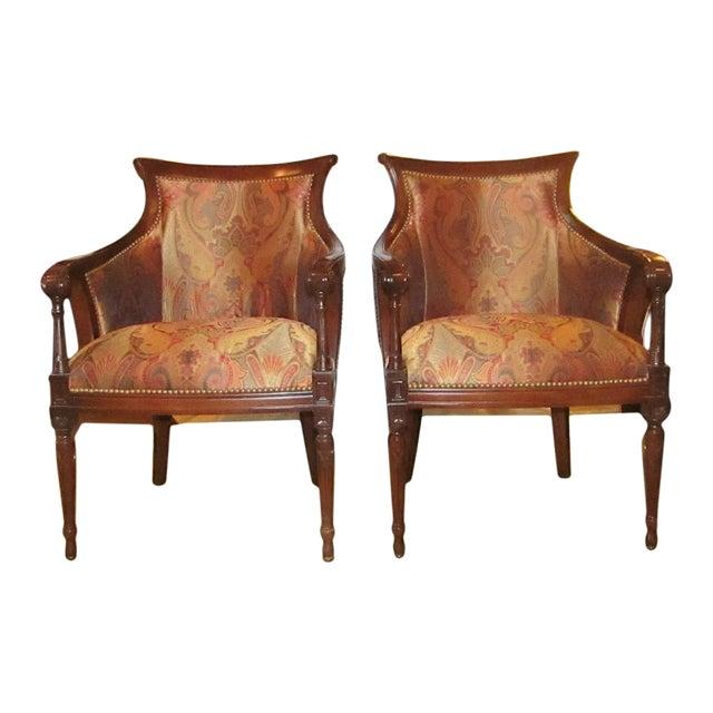 Regency Side Chairs - Pair - Image 1 of 6