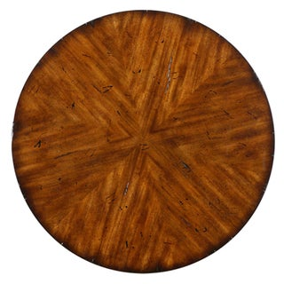 Traditional Style Round Lamp Table Preview